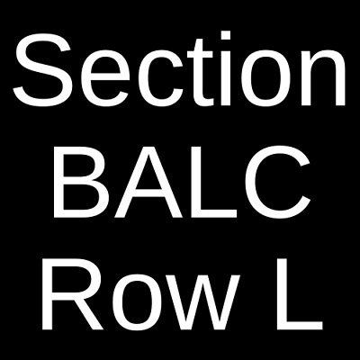 4 Tickets City and Colour 10/5/20 Red Bank, NJ