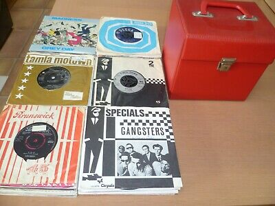 104 Mod, Ska + Punk Singles + Case - All Listed
