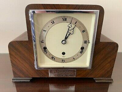1950's Elliott 8-day Mantel Clock with strike and Westminster chime