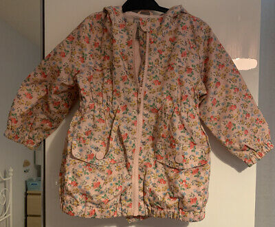 Next Girls Raincoat Floral Age 1.5-2 Years 18-24 Months
