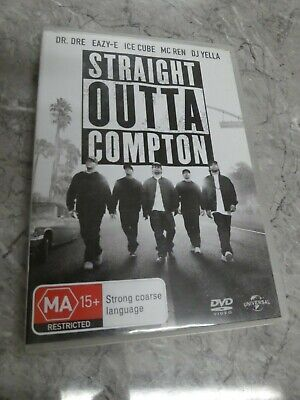 Straight Outta Compton (DVD, Region 4) BC6