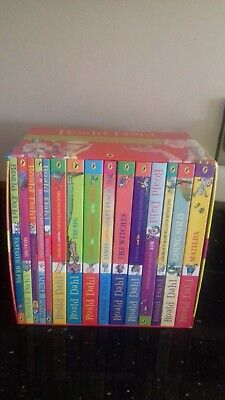15 roald dahl books - boxed collection - bnib