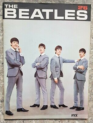 The Beatles Book by Patrick Maugham, PYX production, 1960's issue