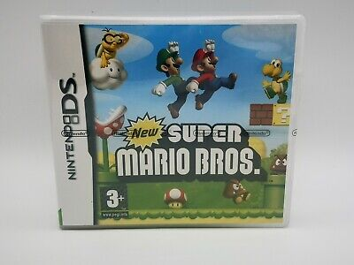 New Super Mario Bros (Nintendo DS, 2006) - Brand New,