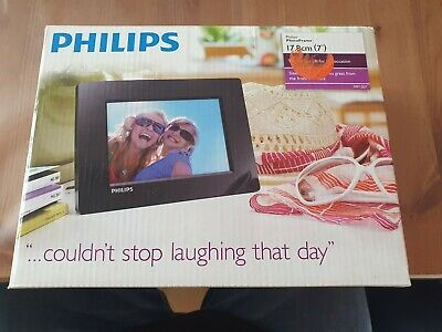 Philips PhotoFrame 17,8 cm 7'' neu OVP digitaler Bilderrahmen