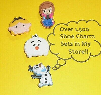 Shoe Charms Shoe Buttons Plugs Decoration frozen Cake Toppers  auction