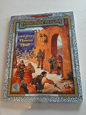 Advanced Dungeons & Dragons The City Of Ravens Bluff Forgotten Realms RPG TSR