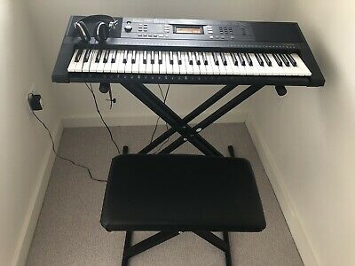 Yamaha Psr E343 5 Octave Keyboard With Adjustable Stand And Stool