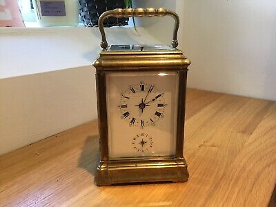 "Victorian Repeater Alarm Carriage Clock 1850""s"