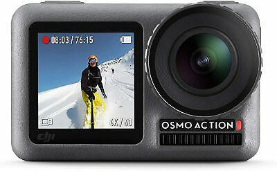DJI Osmo Action - Digital Camera with 11 m Dual Screen, Water Resistant, 4K HDR