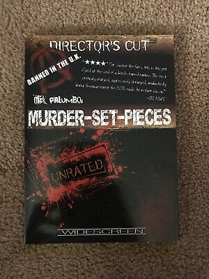 Murder Set Pieces DVD Unrated Directors Cut Rare OOP !!