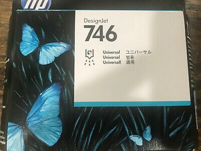 HP 746 | DesignJet Printhead | P2V25A New, Mar 2021