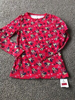 Girls Minnie Mouse Thermal Vest Age 8-9