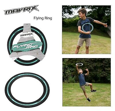 Mavrix Flying Rubber Ring Aerobie Frisbee Outdoor Toy Camping Kids Beach Holiday