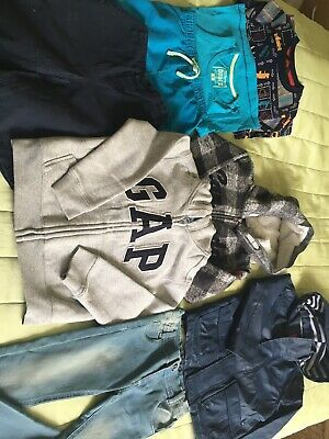 Boys Clothes Bundle Age 4-5 Years. 8 Items. Gap, John Lewis, Dirkje, Canadiana
