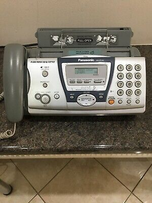 Panasonic KX-FP145 Plain Paper Fax & Copier with Caller ID and Messaging System