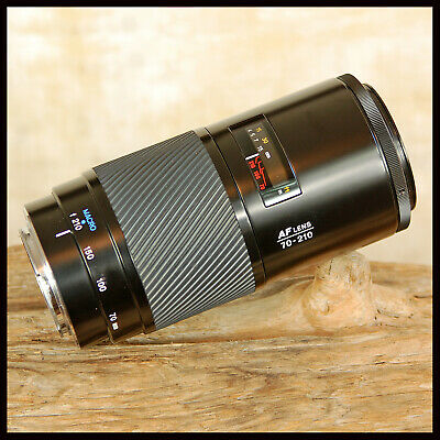 Fixed F4 Minolta 70 210mm Beer Can Telephoto Zoom lens fit Sony Alpha A Digital