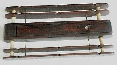Vintage Antique Wooden Tackle Winder  Late 19Th / Early 20Th Century