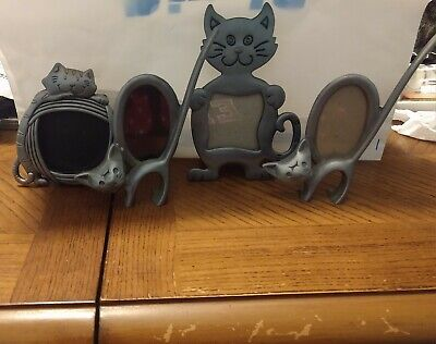 4 Cat Picture Frames