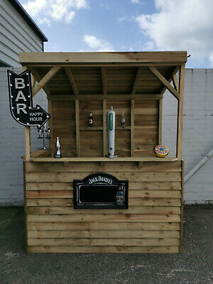 Outdoor Garden Bar - 6ft x 3ft - Free delivery to Wirral & Chester