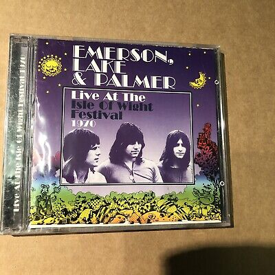 EMERSON LAKE & PALMER - LIVE AT THE ISLE OF WIGHT FESTIVAL 1970 - CD 2002 New