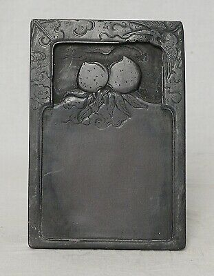 Chinese  Brown  Ink  Stone    M3631