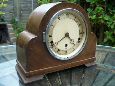 Elliott Westminster Chime Mantle Clock 4 Spares Or Repairs