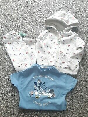 Girls Marks And Spencer Tracksuit Age 3-4