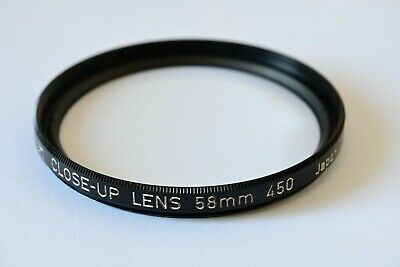 Canon 58mm Close Up Lens 450