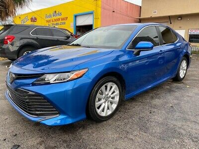 2019 Toyota Camry LE, RARE BLUE, LOW MILES* LOADED! Wholesale Luxury Cars 2019 Toyota Camry LE RARE BLUE Sedan 2.5L I4 FWD