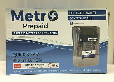 Metro Prepaid Meter for Tenants - PayPoint Top-Ups