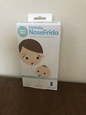 NoseFrida FridaBaby Snotsucker Saline Kit - NEW OPEN BOX