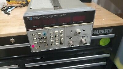 HP Agilent 5342A Microwave Frequency Counter 10Hz-18Ghz