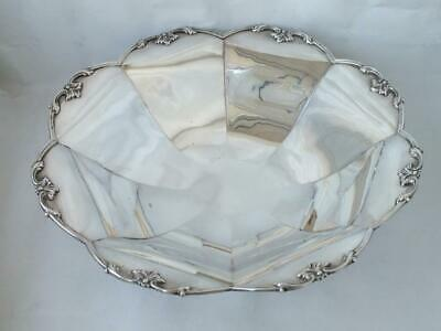 Art Deco Solid Sterling Silver Bowl 1938/ Dia 25.5 cm/ 529 g