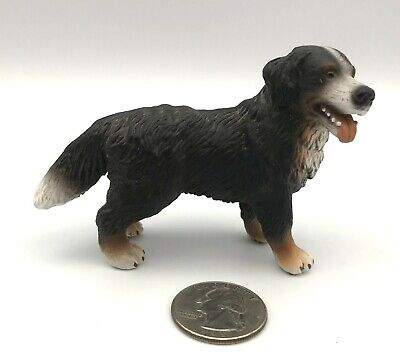 Schleich BERNESE MOUNTAIN DOG Standing Adult Figure 2004 Retired 16339