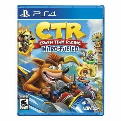 Crash Team Racing: Nitro-Fueled PS4 PlayStation 4