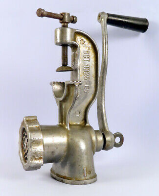 Vintage Collectible Hand Meat Grinder Made In The Soviet Union - Russia