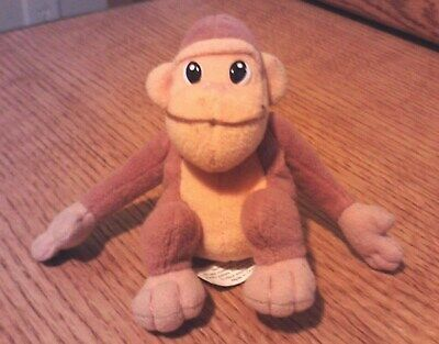 "1999 Dannon Danimals Yogurt 4"" GORILLA Stuffed Animal"