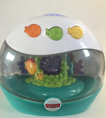 Fisher Price Calming Seas Projection Soother Musical Light Up Sea Show Works