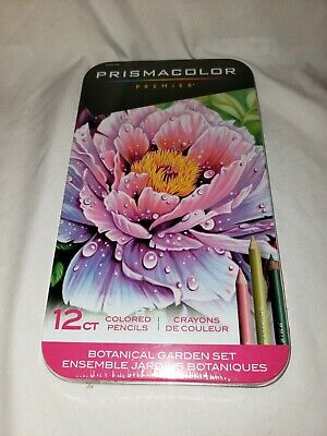 Prismacolor Premier Colored Pencils, Botanical Garden Set 12 count