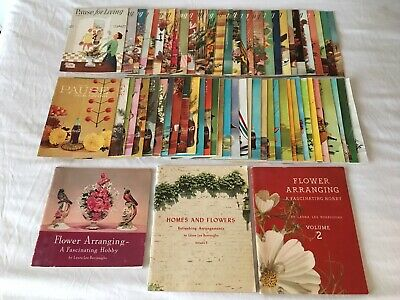 "Complete Set Coca-Cola ""Pause For Living"" Booklets, 54-70 & All 3 Flower Books"