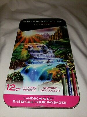 Prismacolor Premier Colored Pencils, Landscape Set 12 count
