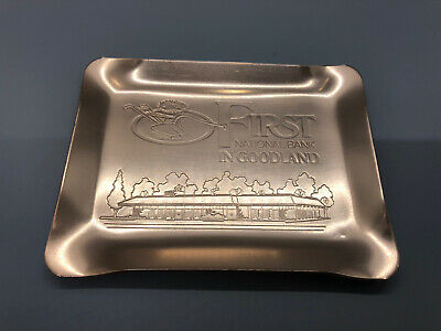 First National Bank In Goodland Kansas Ashtray Cool!