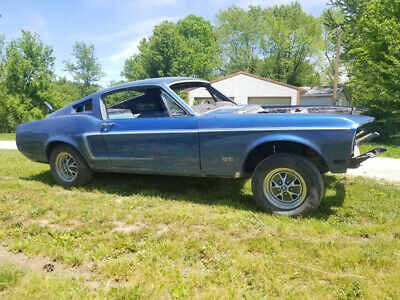 1967 Ford Mustang  OLID V8 Fastback W/ GT Badging Great Floors, Rails, Trunk, Quarters NO RESERVE!