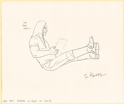Metalocalypse Original Animation Art: Nathan Reading