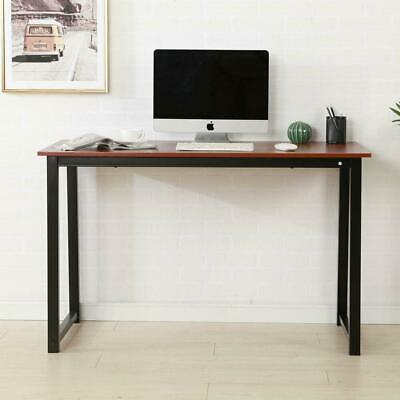 Study Writing Desk Computer Table  Concise Home Furniture Office Brown Color