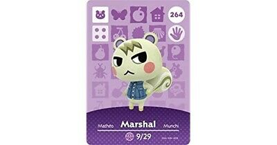 Animal Crossing: New Horizons Amiibo Marshal #264 Series 3 NFC Tag - RESTOCKED