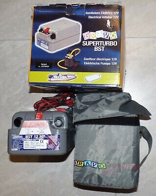 Bravo Superturbo BST 12 HP Air Pump with Adapters, Hose & Case - Boat or Camping