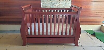 BOORI - BABY COT with WATERPROOF MATRESS, CHANGE TABLE AND TALL BOY