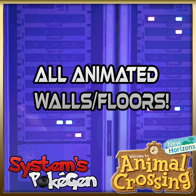 Animal Crossing New Horizons: Every Animated Wall/Floor!!! Wallpapers Decoration